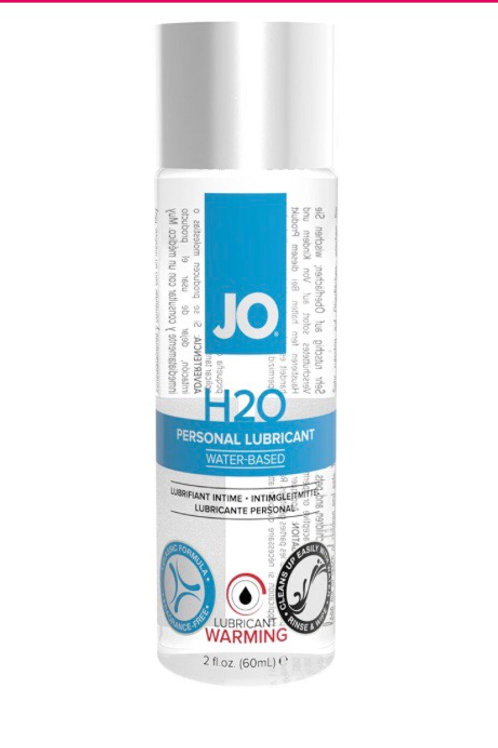 H2O Warming Personal Lube 2oz