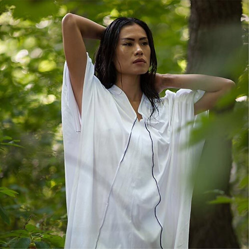 Organic Cotton Caftan Dress