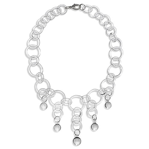 Ball Drop Necklace Chain Necklace