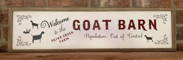 GOAT BARN - POPULATION OUT OF CONTROL