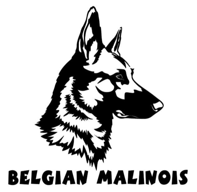 BELGIAN MALINOIS DECAL