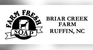 DECAL_  BRIAR CREEK FARM SOAP