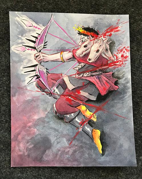 arrows (original painting)