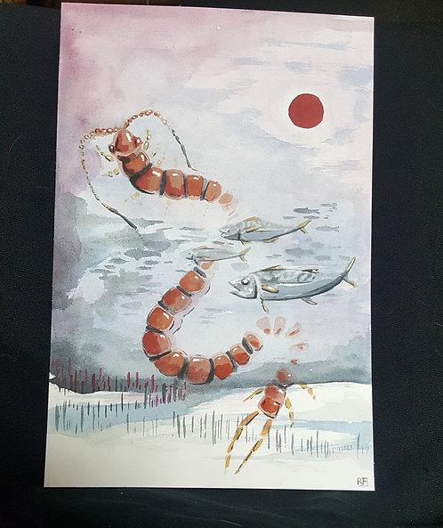 january (original painting)