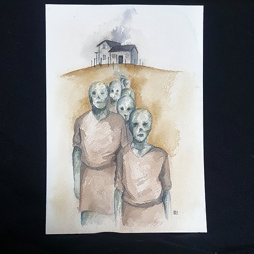 the house (original painting)