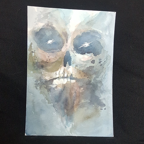 dry rot (original painting)