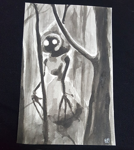 flatwoods (original painting)