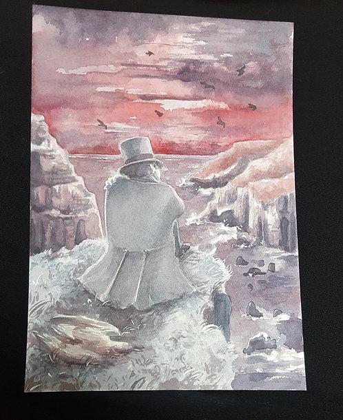 gulls (original painting)