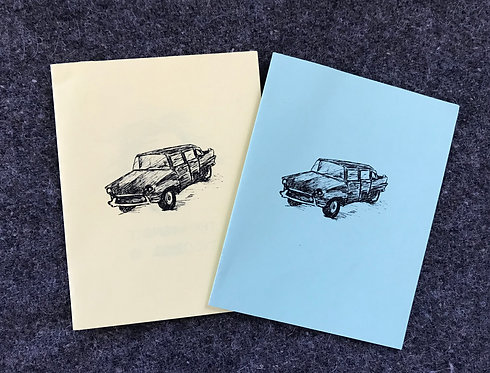 hearse song (physical zine)