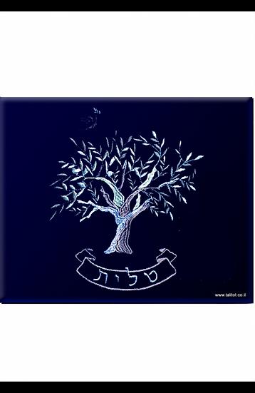 """סט לטלית ולתפילין - דגם """"עץ החיים"""""""