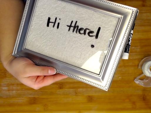 DIY Message Boards (Videos)