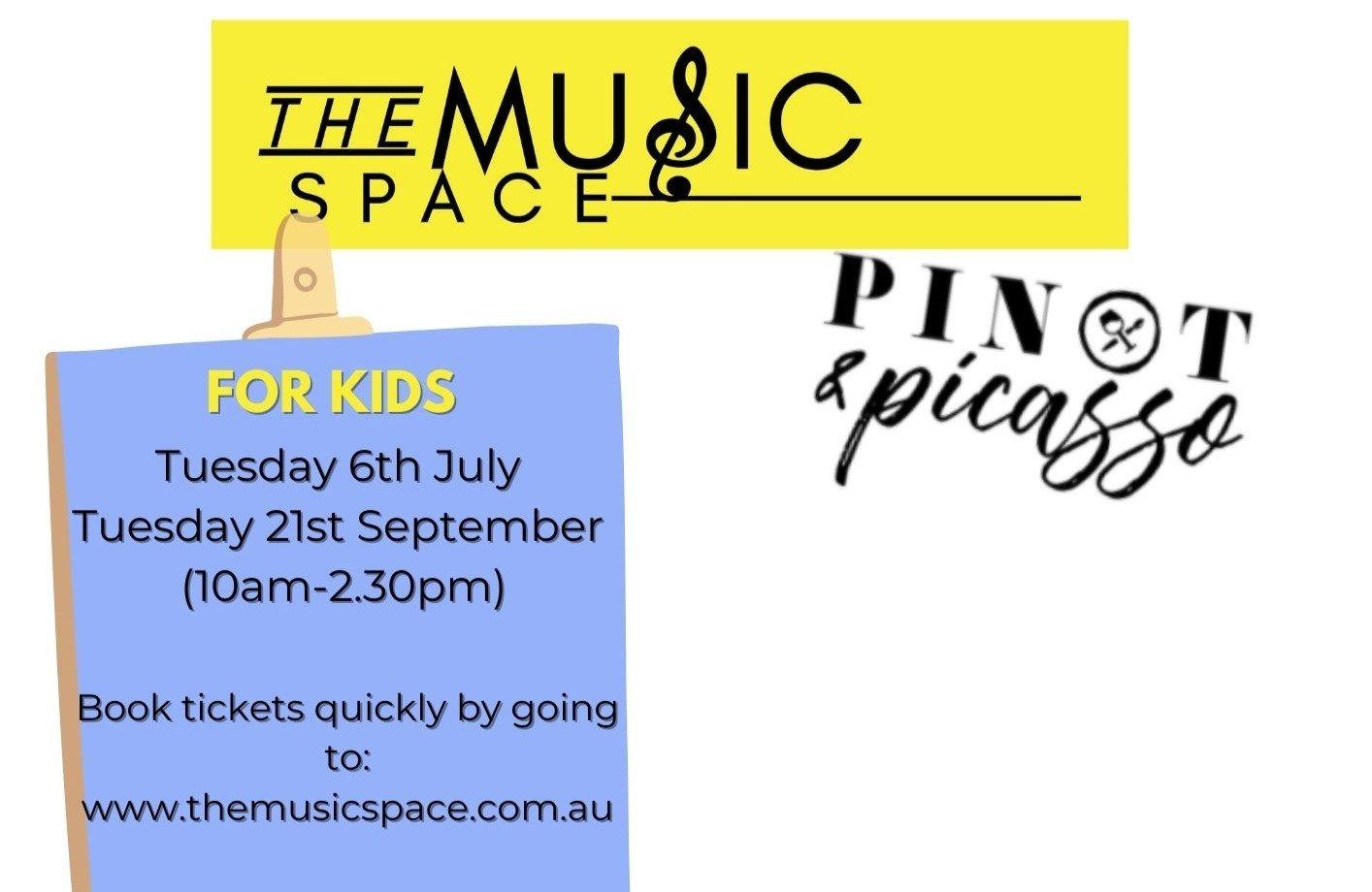 Art Meets Music Workshops (6-11yrs)