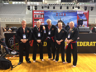 KravMaga Norge med god deltakelse på World Kobudo Convention