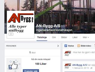 Nå har vi åpnet våre nye Facebooksider
