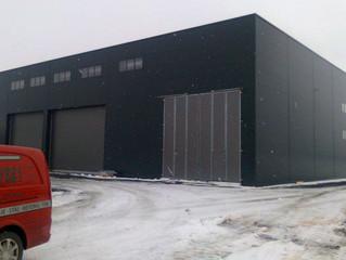 Moderne verkstedbygg er straks ferdig