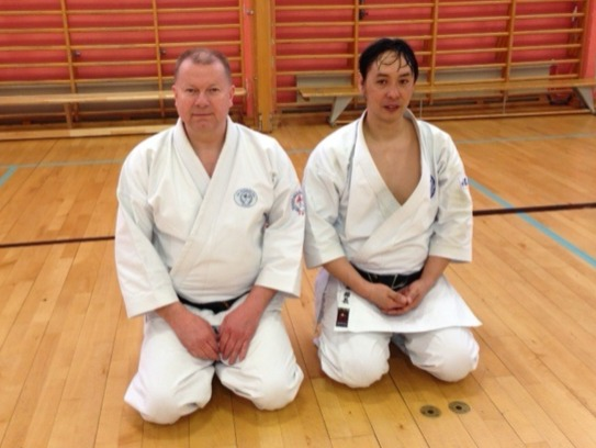 Knut og Kazutaka