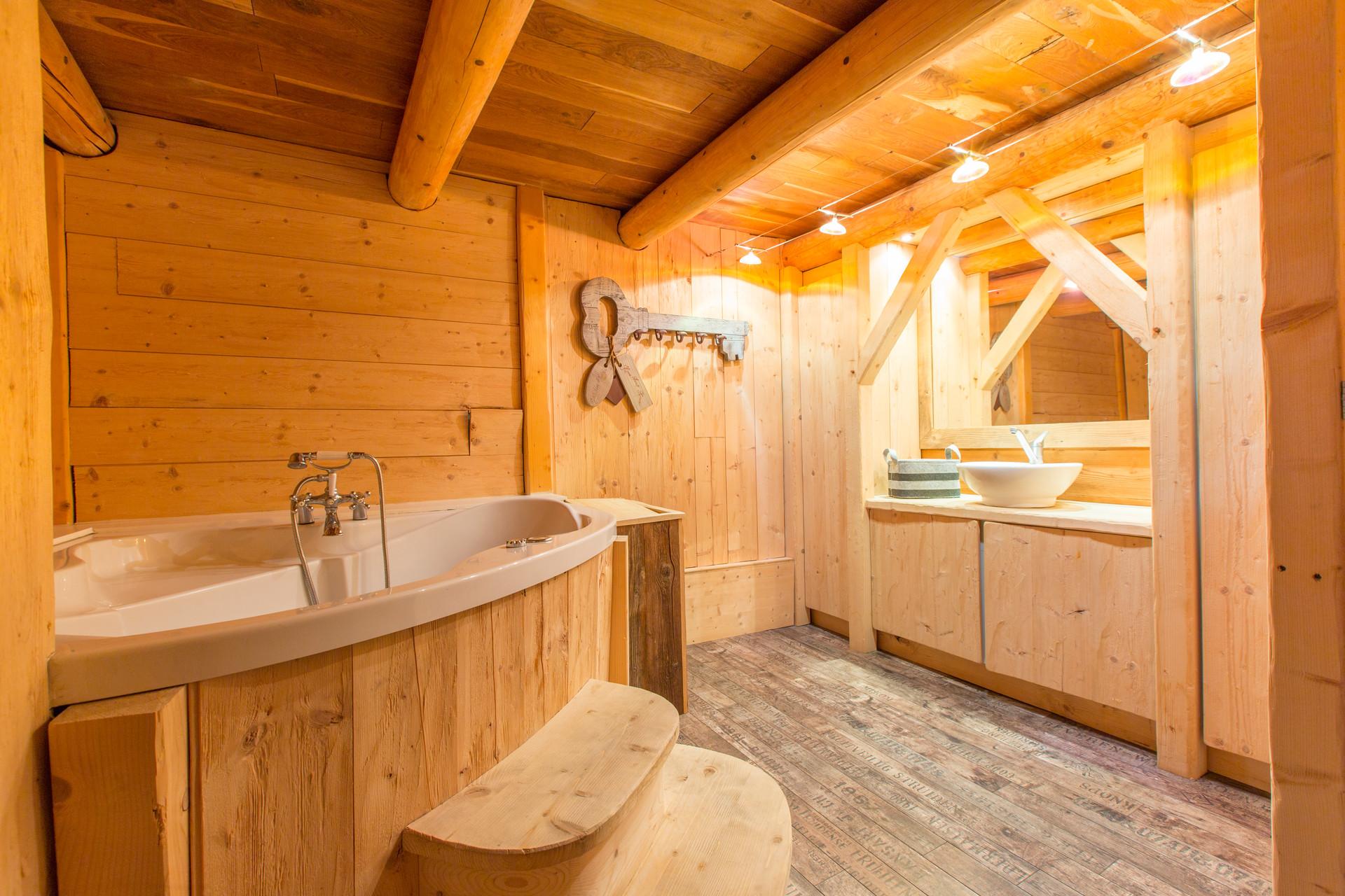 Salle de bain 1 Cosy Lodge Bourg D'Oisan