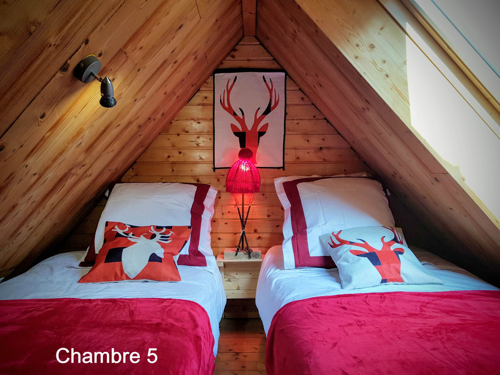 Chambre 5 Cosy Lodge Bourg D'Oisans smal