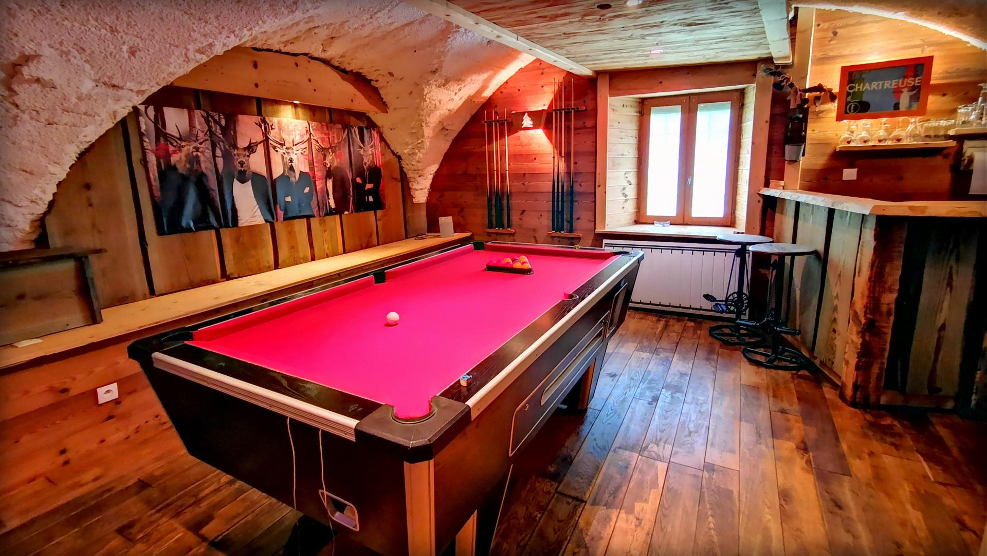 Billard Pool Le Cosy Lodge Bourg d'Oisans