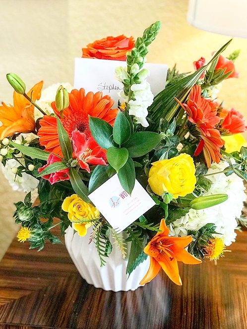 Tropical Floral Arrangment - Medium