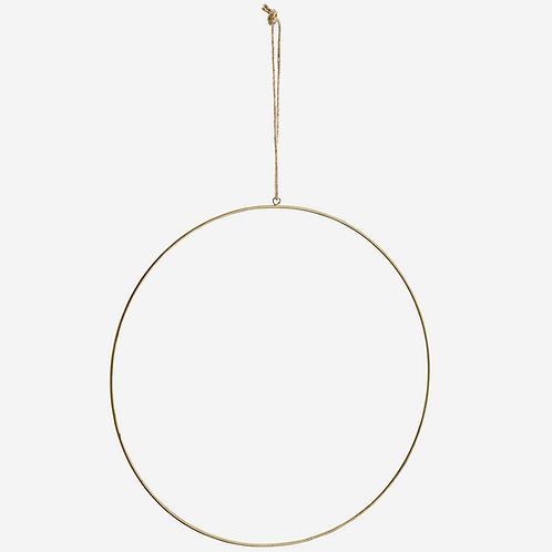 Antique Brass Iron Ring 40cm