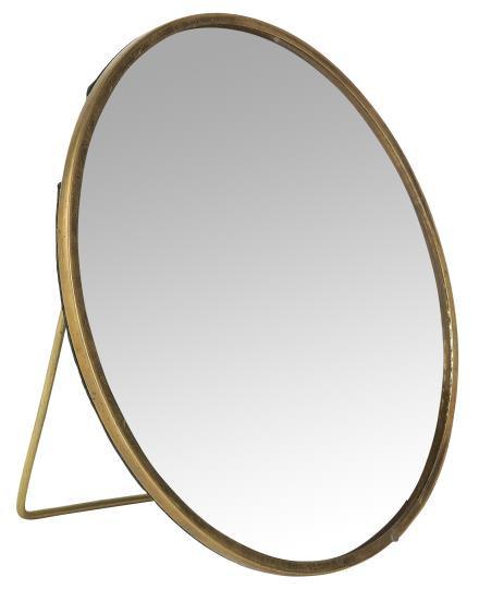 Standing Round Mirror