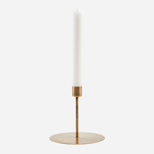 Candle Stand, Antique Brass 12cm x 13cm