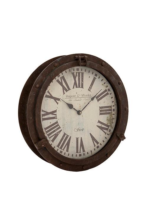 Porthole Clock 42.5cm x 13cm