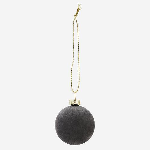 Hanging Velevt Ball Decoration