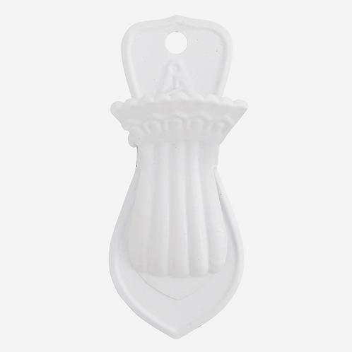 White Iron Clip