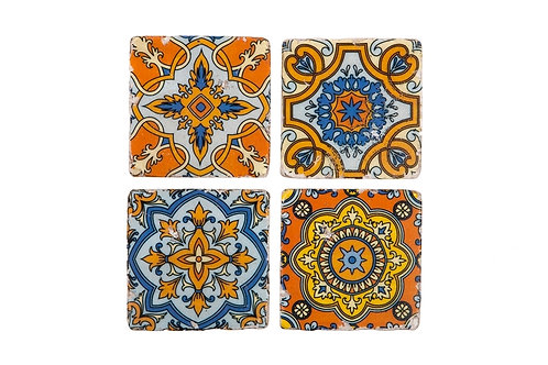 Arabesque Coasters Set of 4