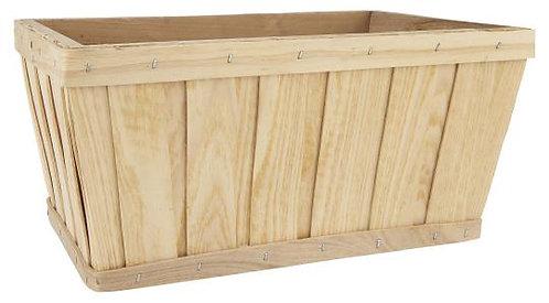 Natural Chip Wood Basket
