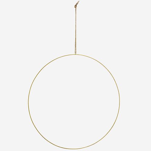 Antique Brass Iron Ring 60cm