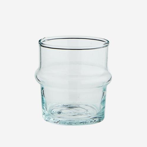 Short Clear Beldi Glass 5.5cm x 6cm