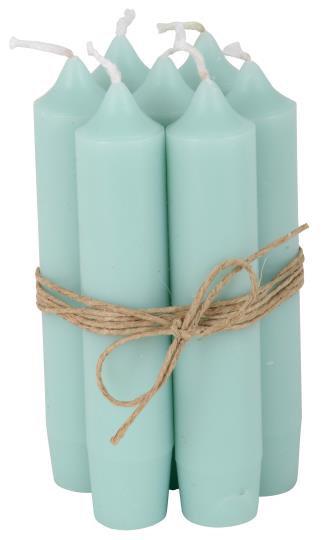 Short Dinner Candles - 7 -Mint Green