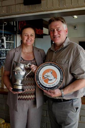 Interclub Winning Team: Caesar and Nala