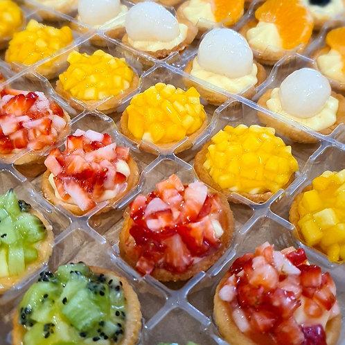 Mini fruit tartelette (12 pieces)