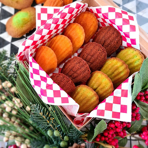 Assorted Madeleines Pack (12pcs)
