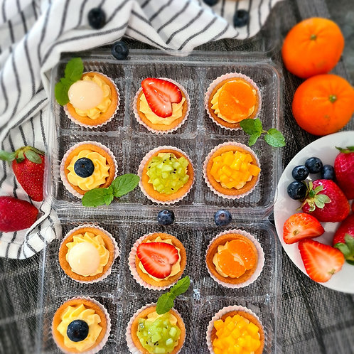 Mini fruit tartelette (24pcs)