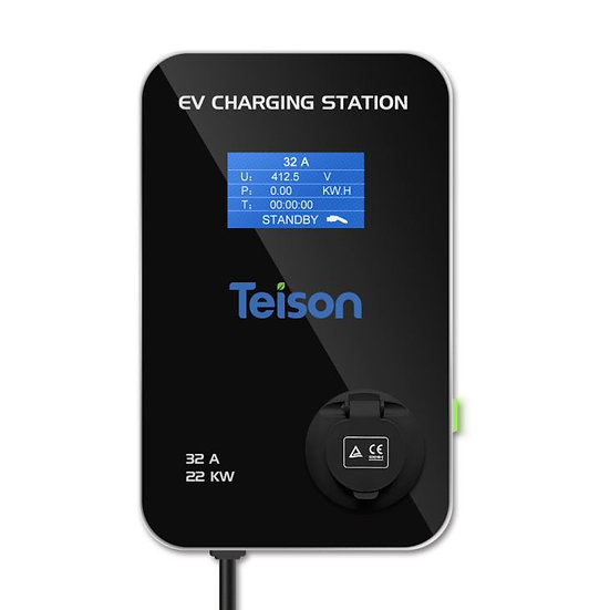 Teison 22KW EV Charging Station with Type 2 Socket (White)