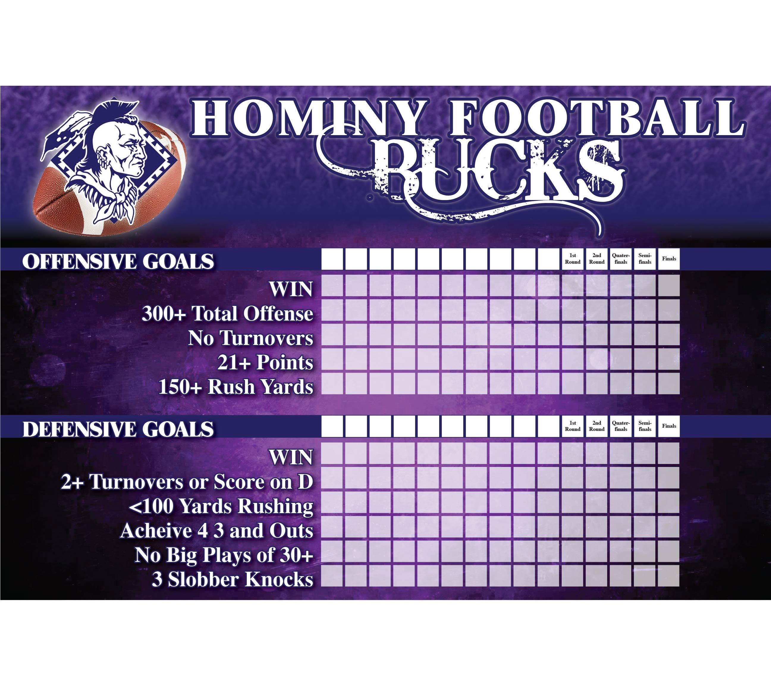 GCI HOMINY FOOTBALL GOALS 2x3