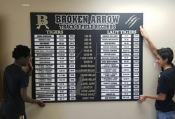 Broken Arrow Records Board 2020 - Live