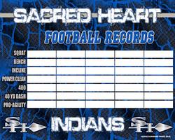 Sacred Heart Strength Board 4x5 - 2019 P
