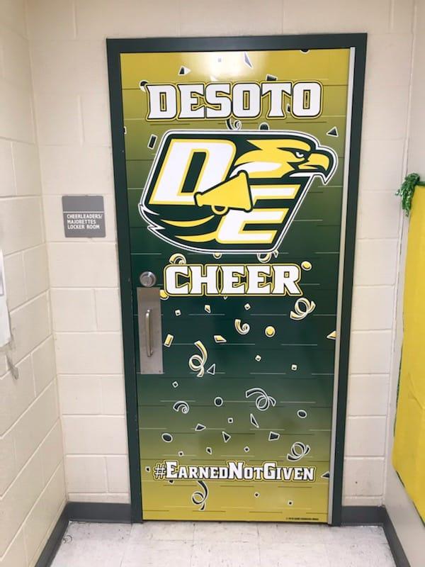 DeSoto Cheer Door 2019 - Live
