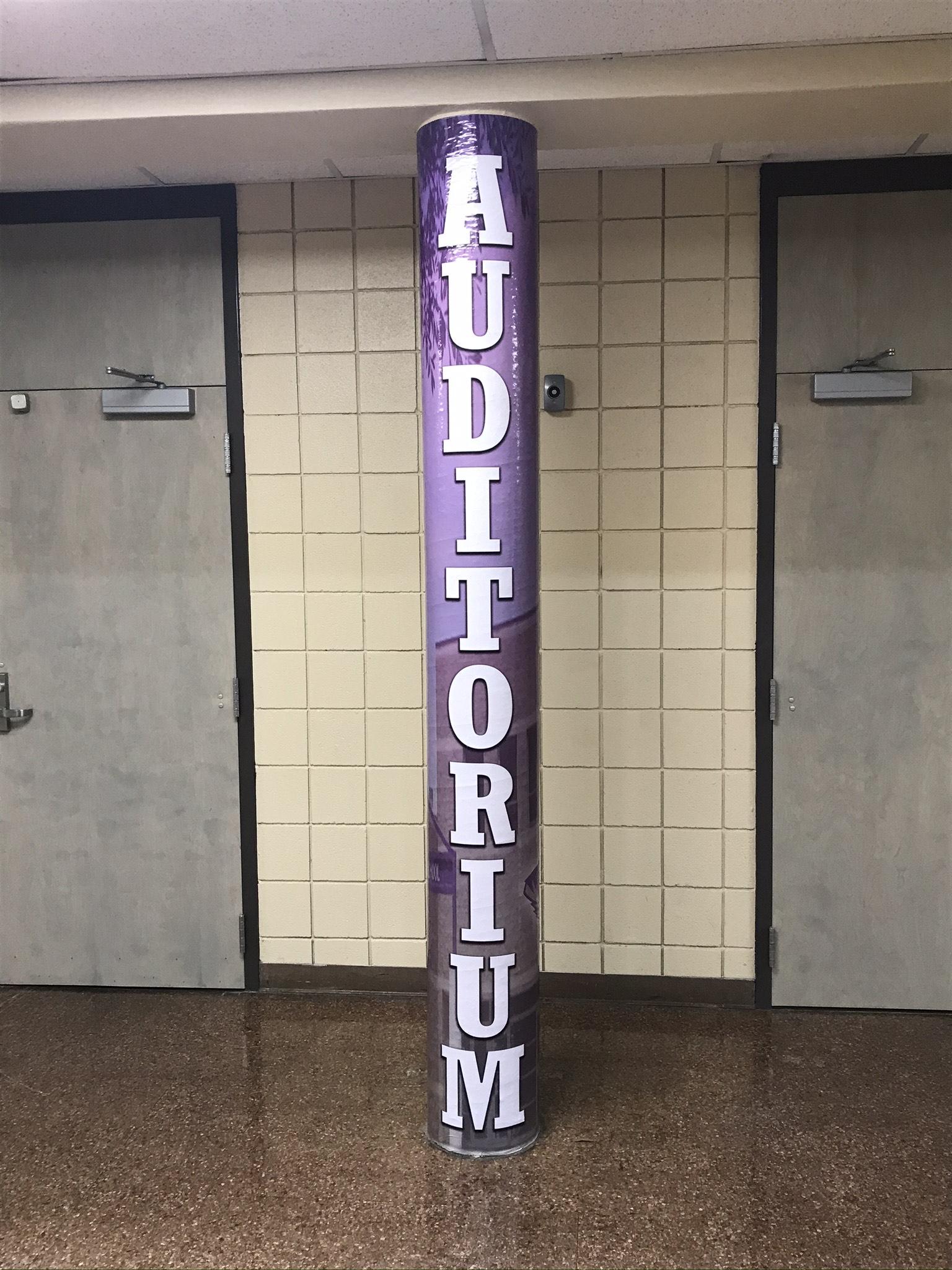 Minor (AL) Auditorium Wrap 2020 - Live