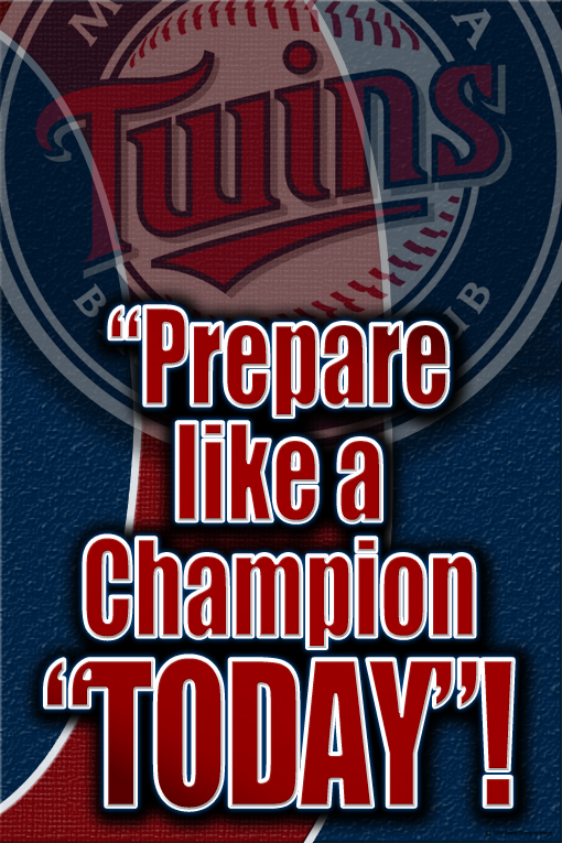 Twins motivational CHAMP PROOF
