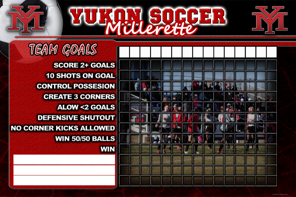 Yukon Lady soccer goals 36x24 PROOF