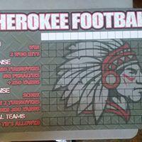 Cherokee (OK) FB Goals Board 2019 - Live