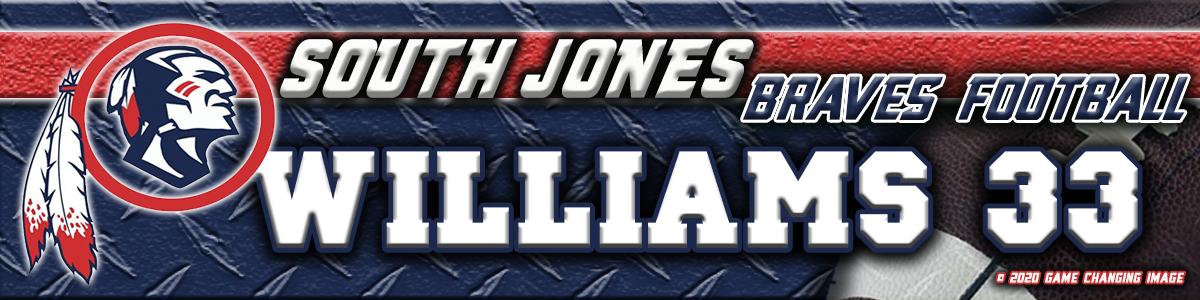 SOUTH JONES MS FB LT 2x8-2020