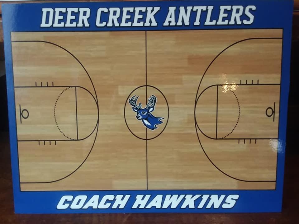 Deer Creek BKB Sideline Board Front 2019